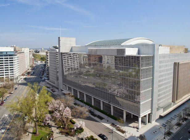 Välimiesmenettelyjä käydään Washingtonissa Maailmanpankin tiloissa. Kuva: Deborah W. Campos / World Bank